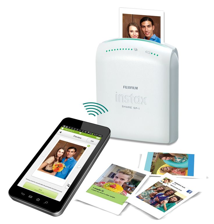 Fujifilm Instax Share Smartphone Printer SP-1- FUJIFILM- Camera & Photo. One of Oprah's Favorite Things