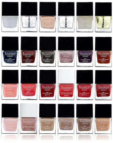 Full set of Butter nail polish wardrobe on Amazon for only $150.00. 24 polishes. Oprah's favorite things.