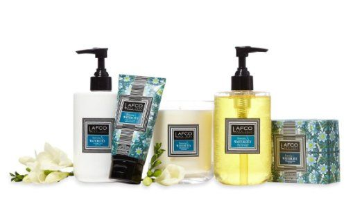 Lafco New York Freesia & Waterlily Complete Collection. Oprah's favorite.