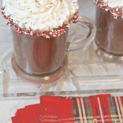 Favorite Holiday Cocktail: Hot Chocolate Peppermint Patty