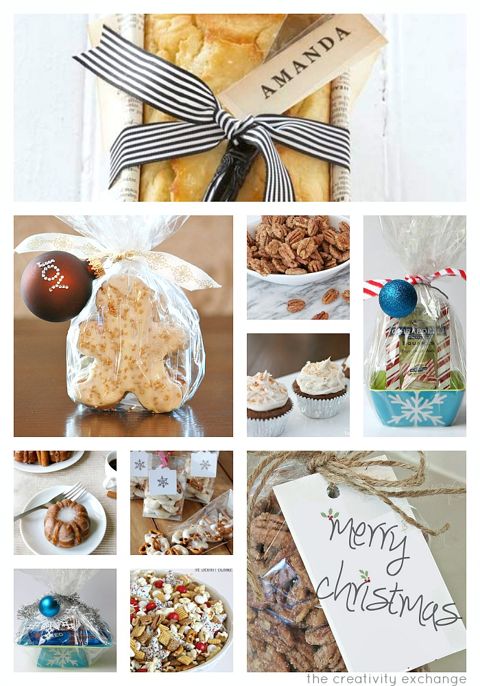 Christmas homemade gift ideas food