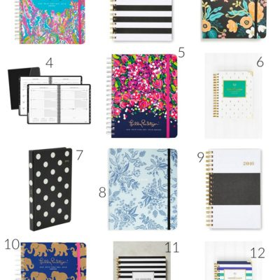 2016 Planners to Help With Staying on Track