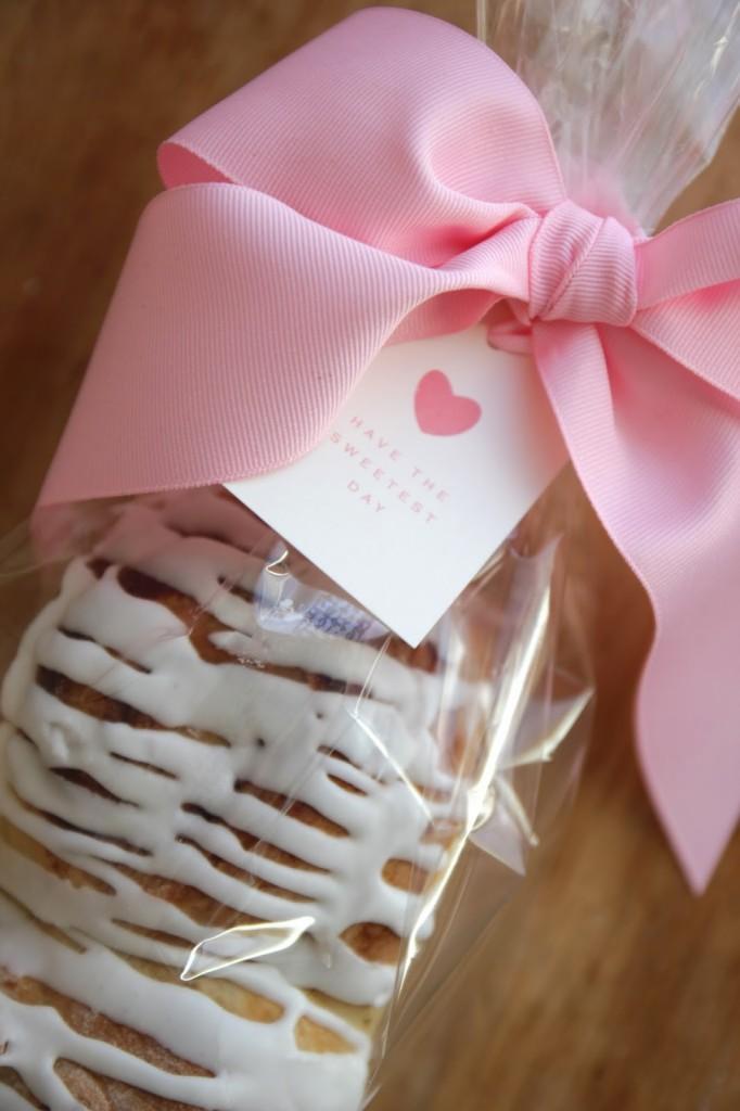 Cinnamon Bread gift idea.