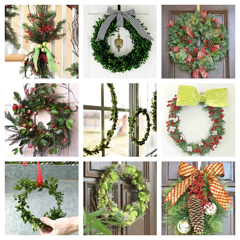 DIY Christmas wreaths to make.
