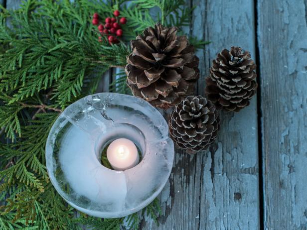Ice candle lantern