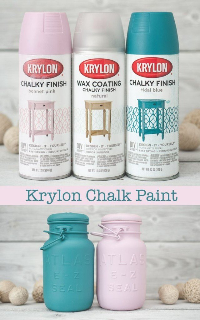 Chalk Paint Finish Now In A Spray Paint Game Changer