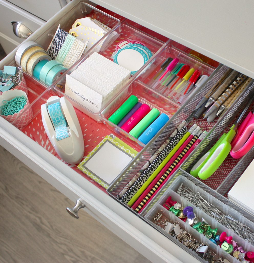 Creative organizing solution for office and desk