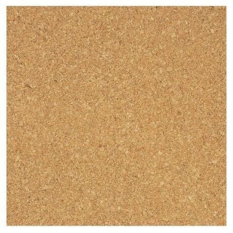 12 x 12 thin corkboard squares