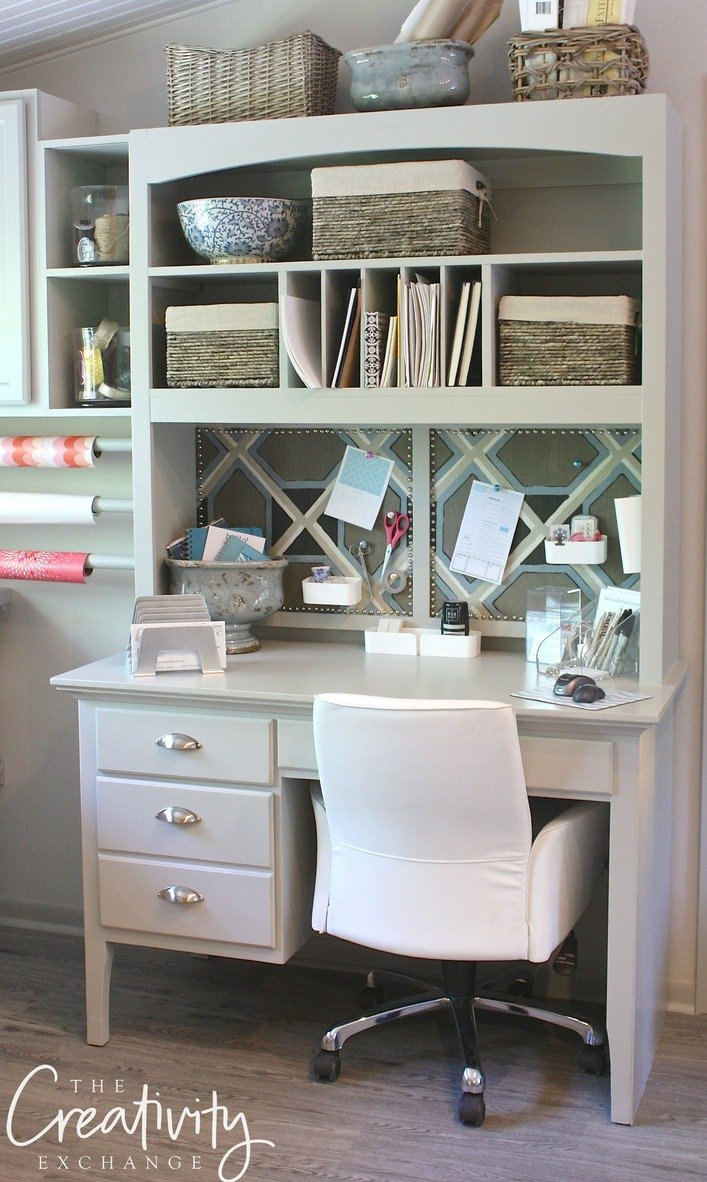 Creative desk and office organization solutions. The Creativity Exchange