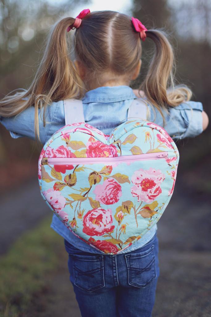 Sewable Heart Backpack