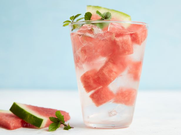 Watermelon-Mint Water