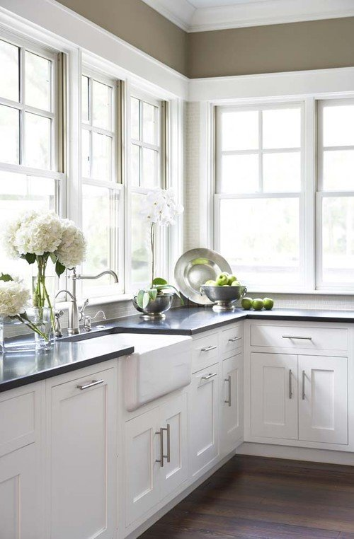 Best paint color for kitchen cabinets sherwin williams What is the most popular kitchen cabinet color