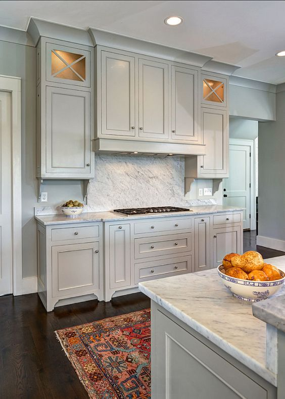 Cabinets Painted With Gray Owl Benjamin Moore Good Looking