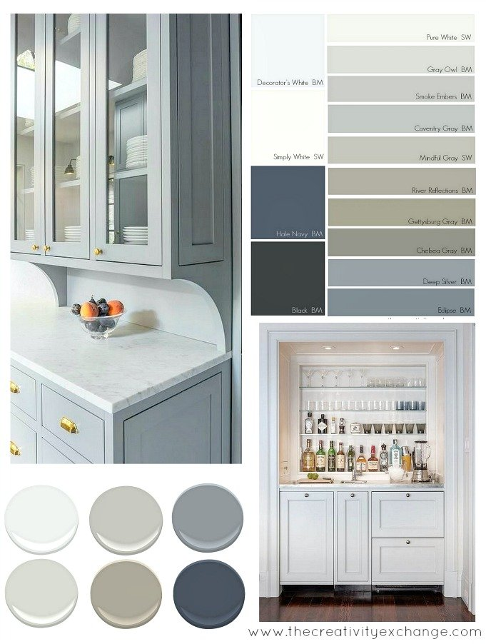 Most popular cabinet paint colors Popular kitchen colors with white cabinets