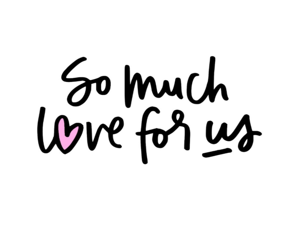 "Free printable ""So Much Love"" 8 x 10 Print."