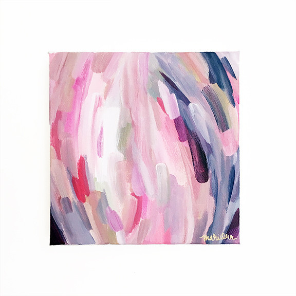 Charlotte Abstract by Artist Mari Orr.