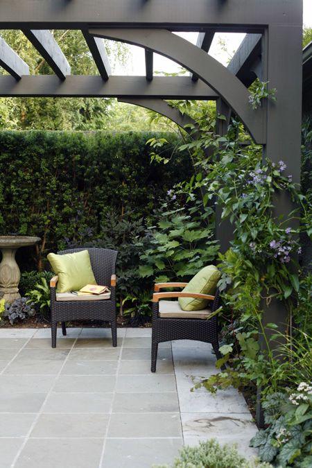 Beautiful patio and pergola.