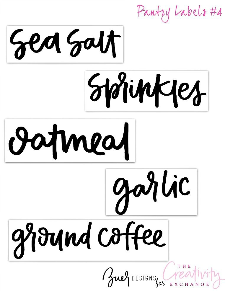 Free Printable Pantry Labels 4