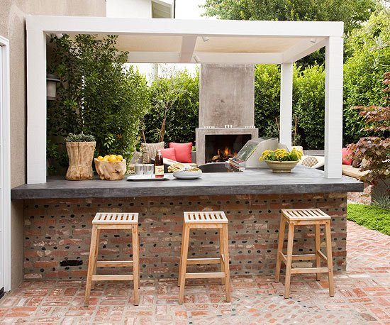 creative outdoor spaces and design ideas modern furniture 2013 white kitchen decorating ideas from bhg