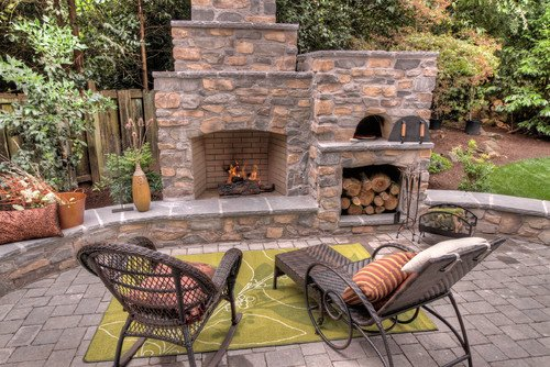 Creative outdoor spaces and design ideas - Outdoor kitchen pizza oven design ...