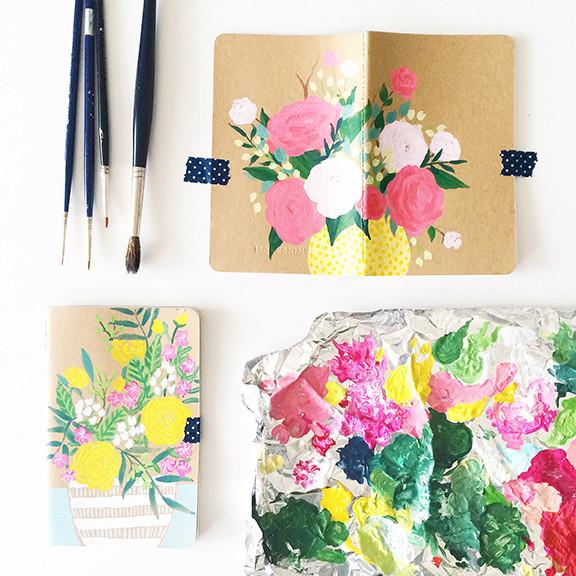 Artist Mari Orr Journals. Artist Spotlight