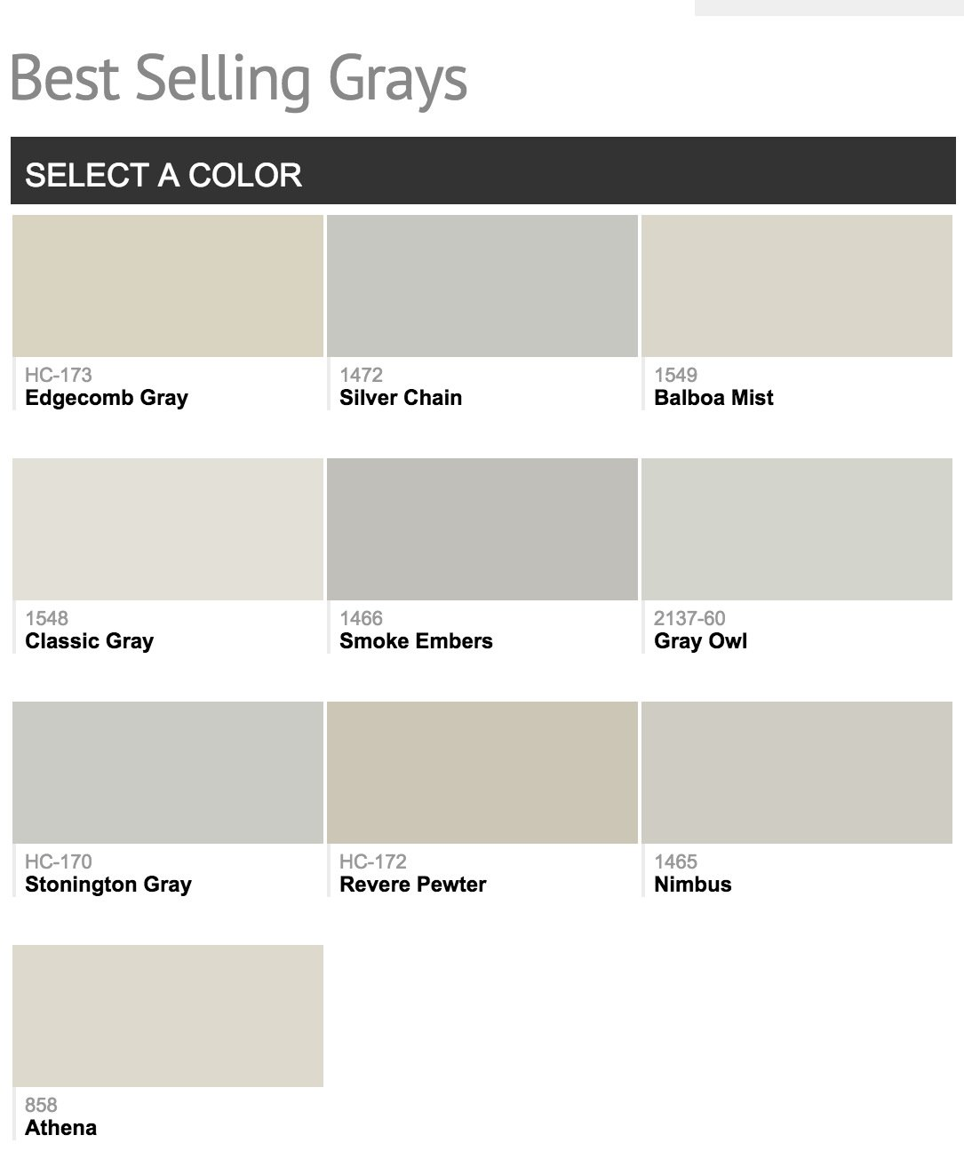 Most Popular Paint Colors Pleasing Best Selling Benjamin Moore Paint Colors Inspiration Design