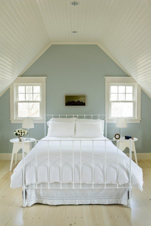 popular bedroom paint colors 14540 | wall color is benjamin moore quiet moments