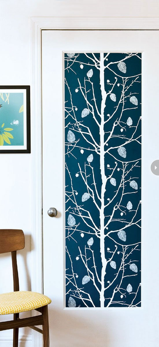 Wallpaper Decor Panel : Creative wallpaper uses and project ideas