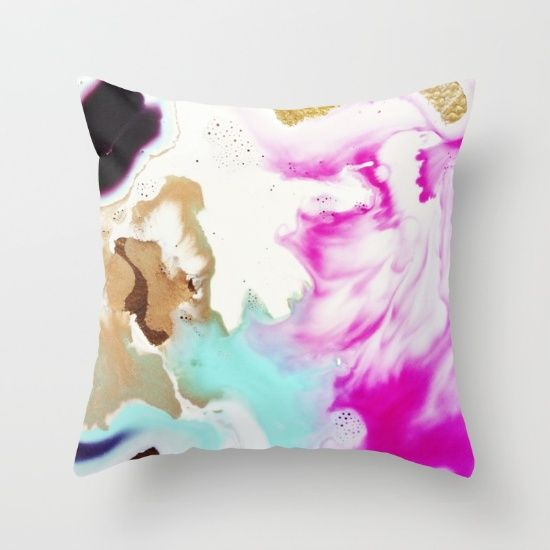 Pillow with Mari Orr art design on Society 6