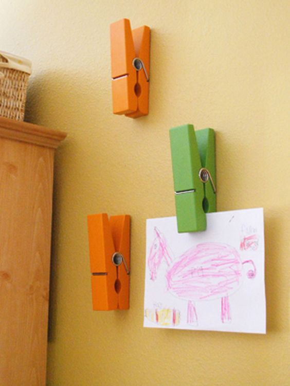 Creative Ways To Display Kids Art