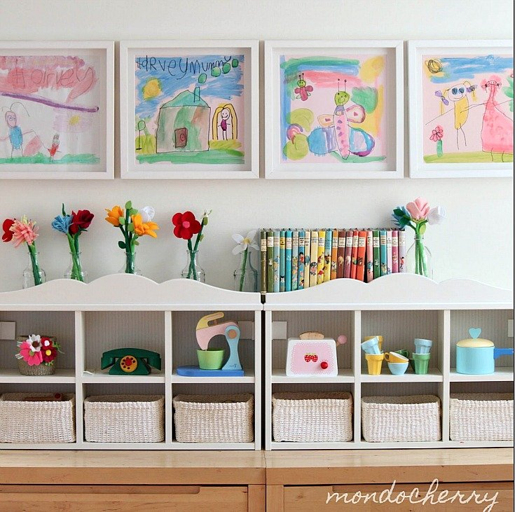 Creative Ways To Display Kids' Art