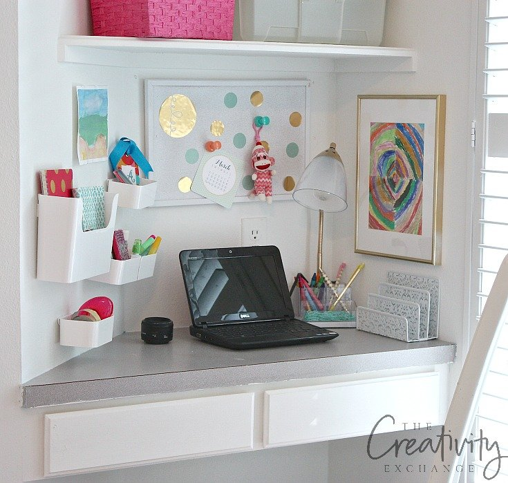 Creative ways to frame and display children's art work