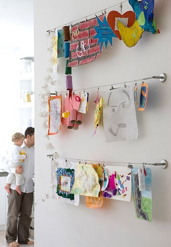 Creative Ways To Display Kids Art
