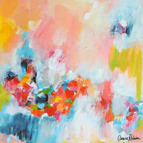 """Chasing Waterfalls"" by Amira Rahim. Artist Spotlight"