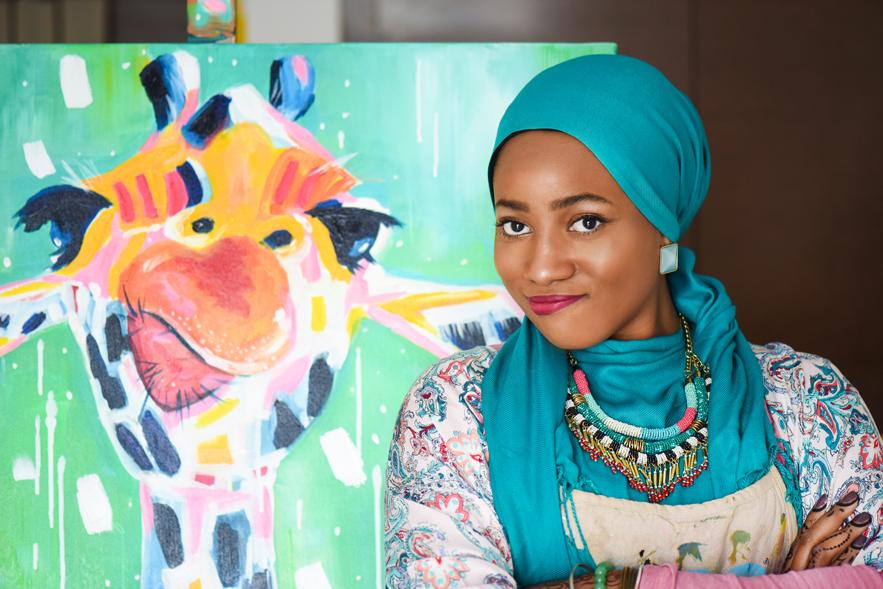 Amira Rahim Artist. Artist Spotlight