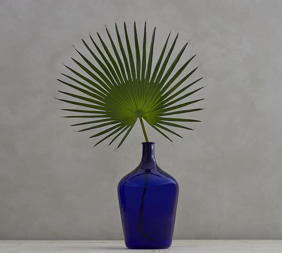 Artificial tall palmetto palm branch from Pottery Barn.