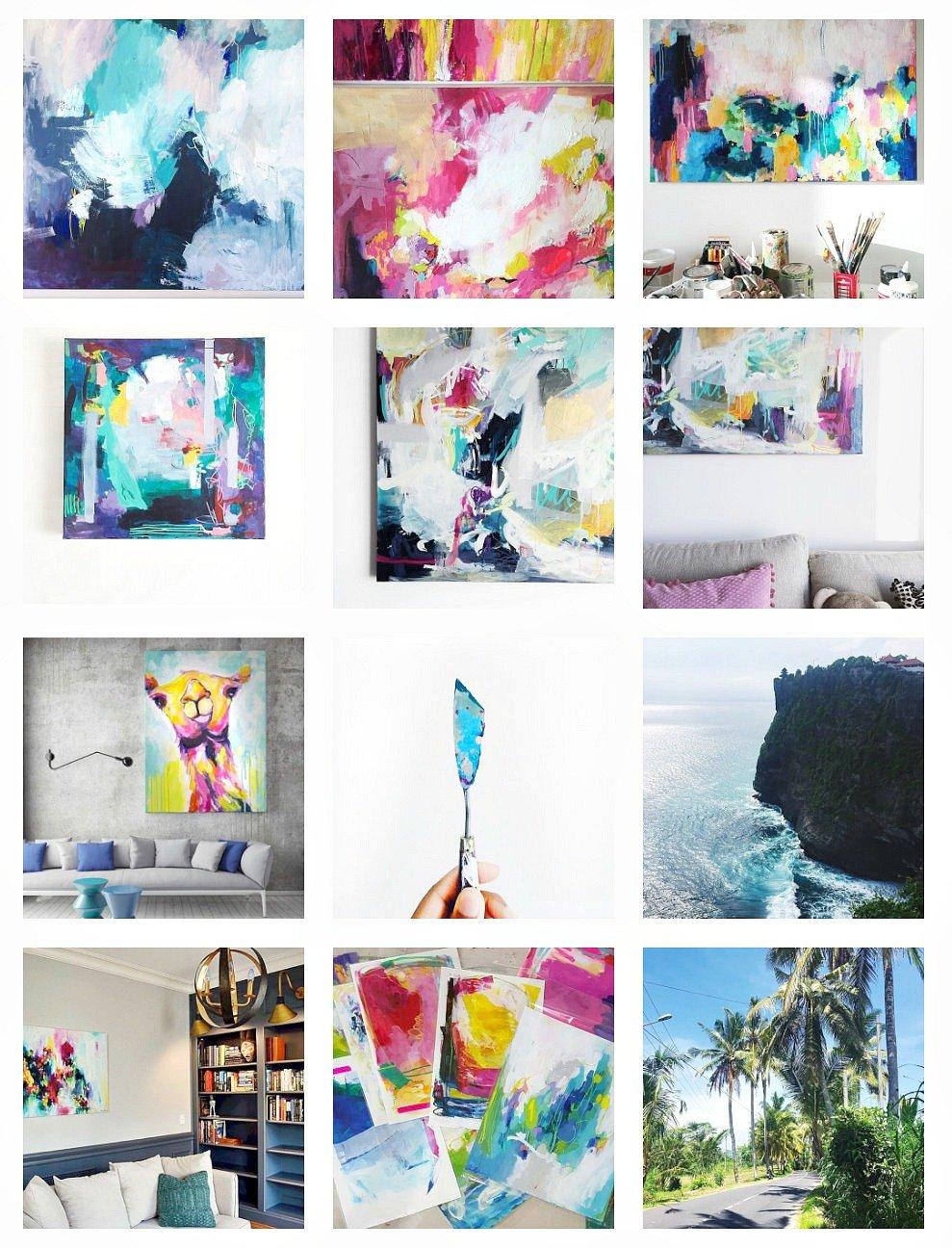 Artist Amira Rahim on Instagram. Artist Spotlight