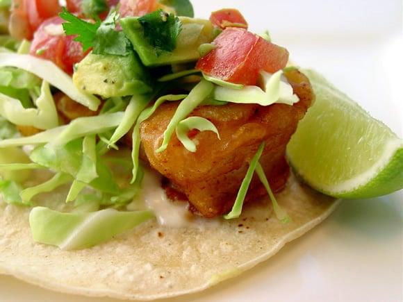 Creative taco combinations and recipes for Baja fish taco recipe