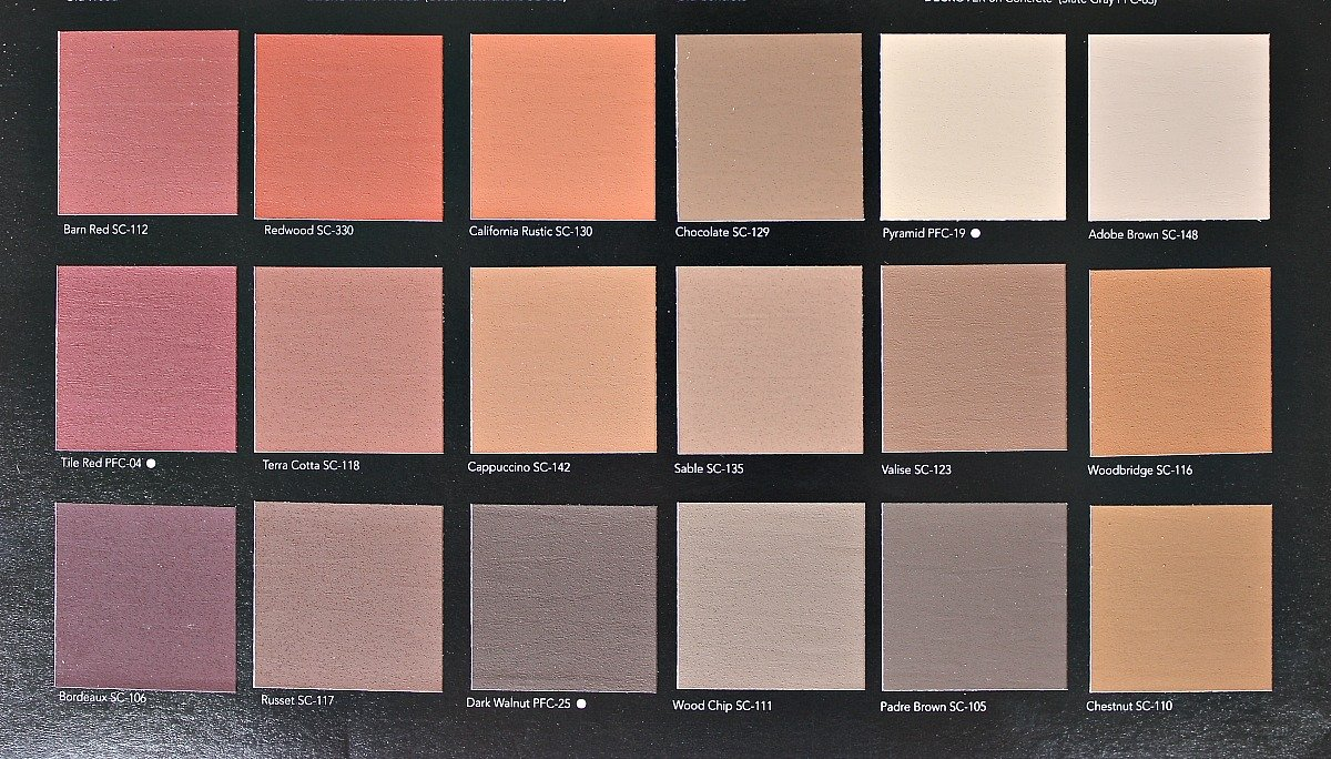 home depot concrete stain color chart with Best Paints To Use On Decks And Exterior Wood Features on Behr Colors 07 together with Behr Paint Colors additionally Deck Stain Colors At Home Depot together with Search additionally Color Plus Siding.