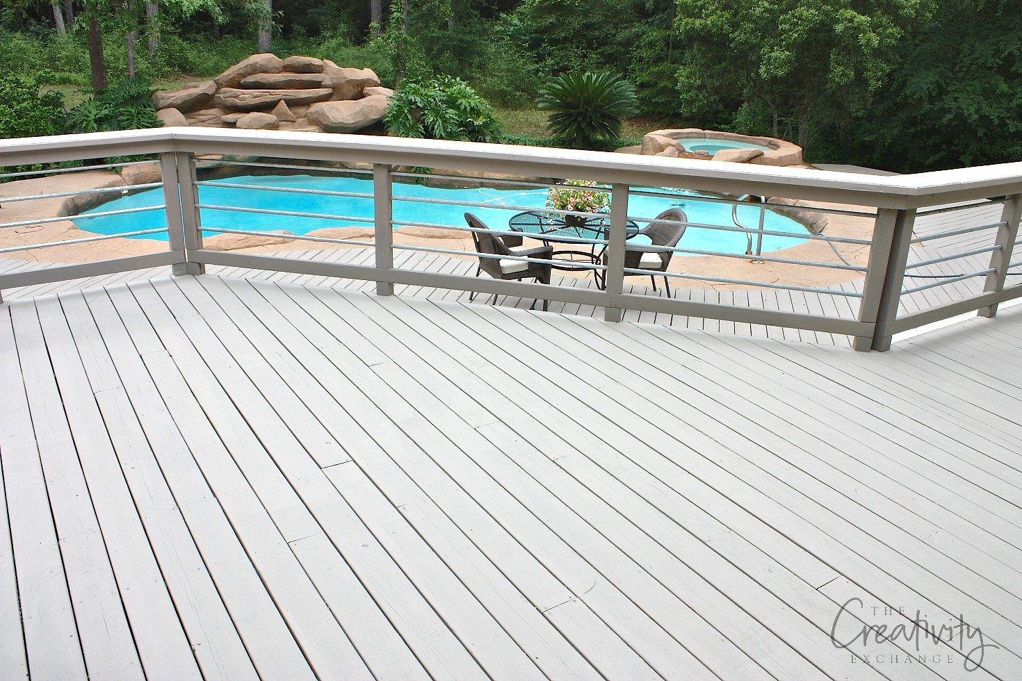 Best paints to use on decks and exterior wood features for External timber decking