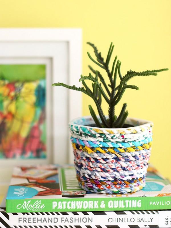 Fabric Twine Planter