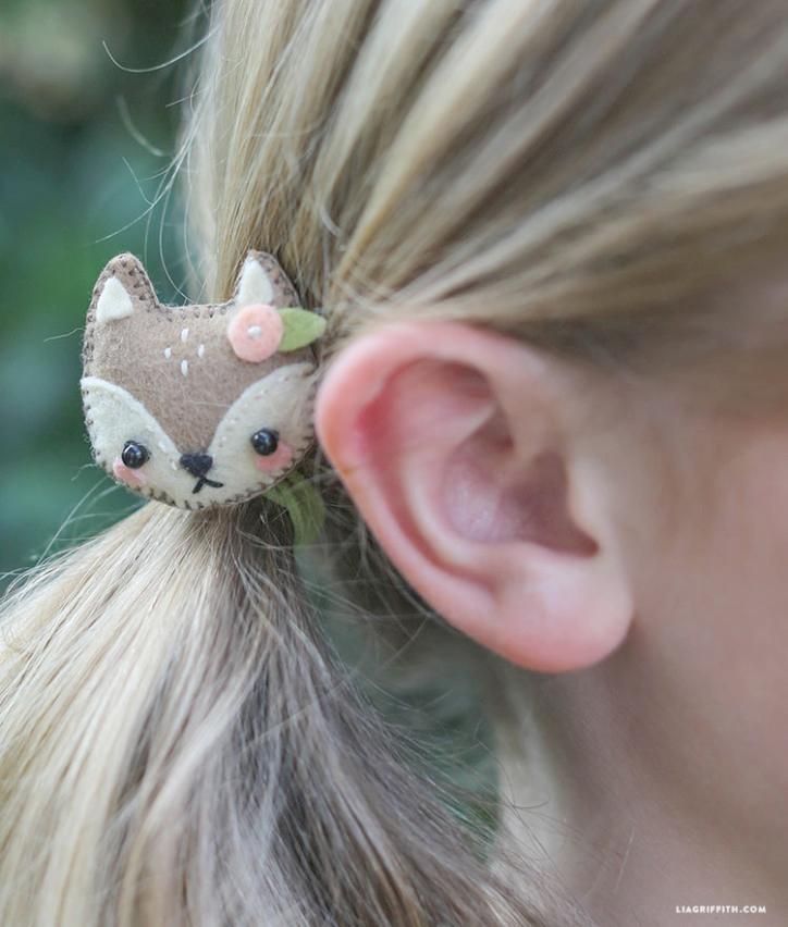 Felt Animal Pins