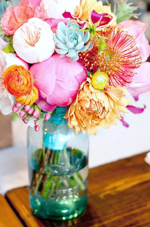 Creative Diy Flower Arrangements And Unique Vessels