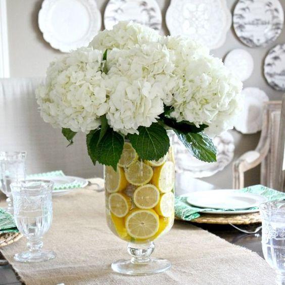Creative DIY flower arrangement from Driven by Decor.