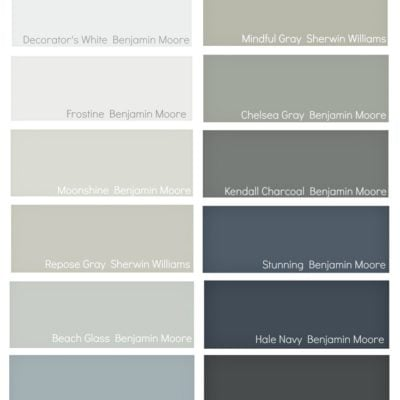 "My ""Go To"" Paint Colors"