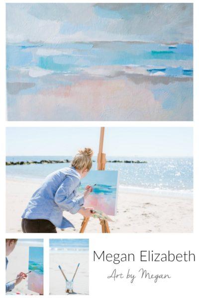 Artist Spotlight Megan Elizabeth. Art by Megan