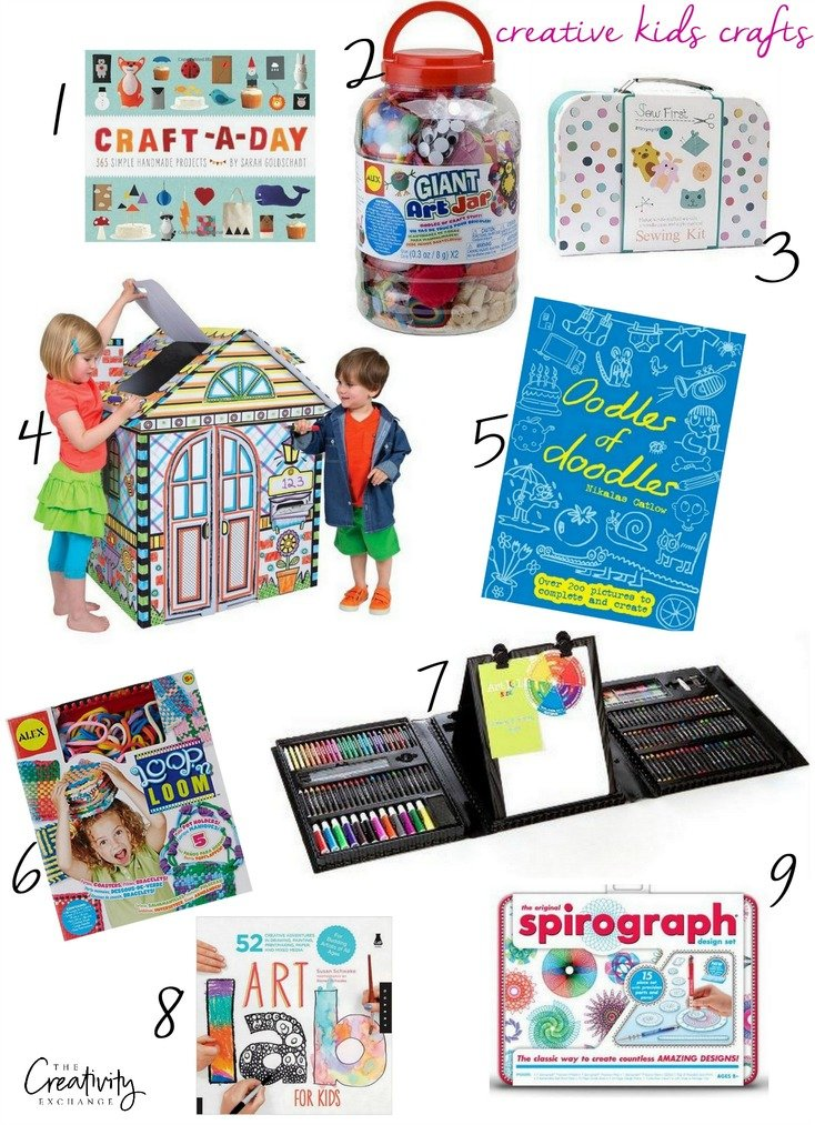 Creative kids craft products and projects.