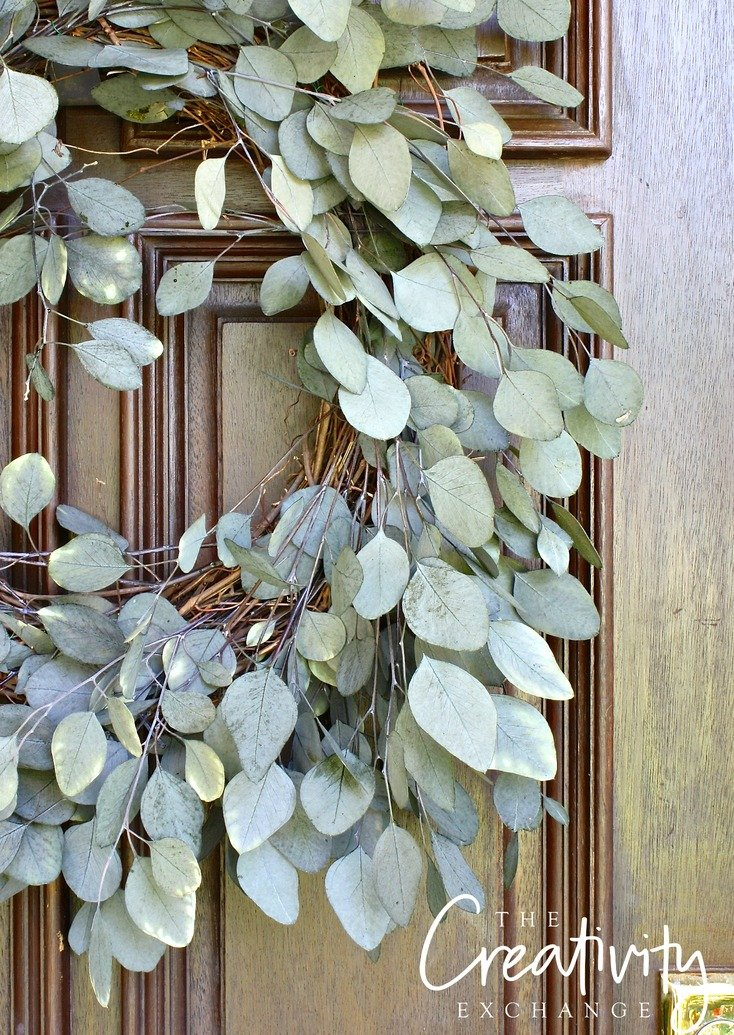 Charmant DIY Eucalyptus Front Door Wreath. The Creativity Exchange
