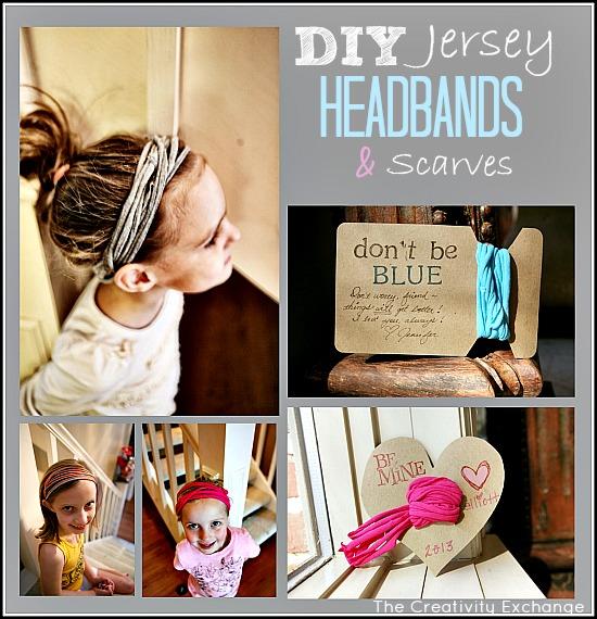 DIY Tutorial for making t-shirt headbands