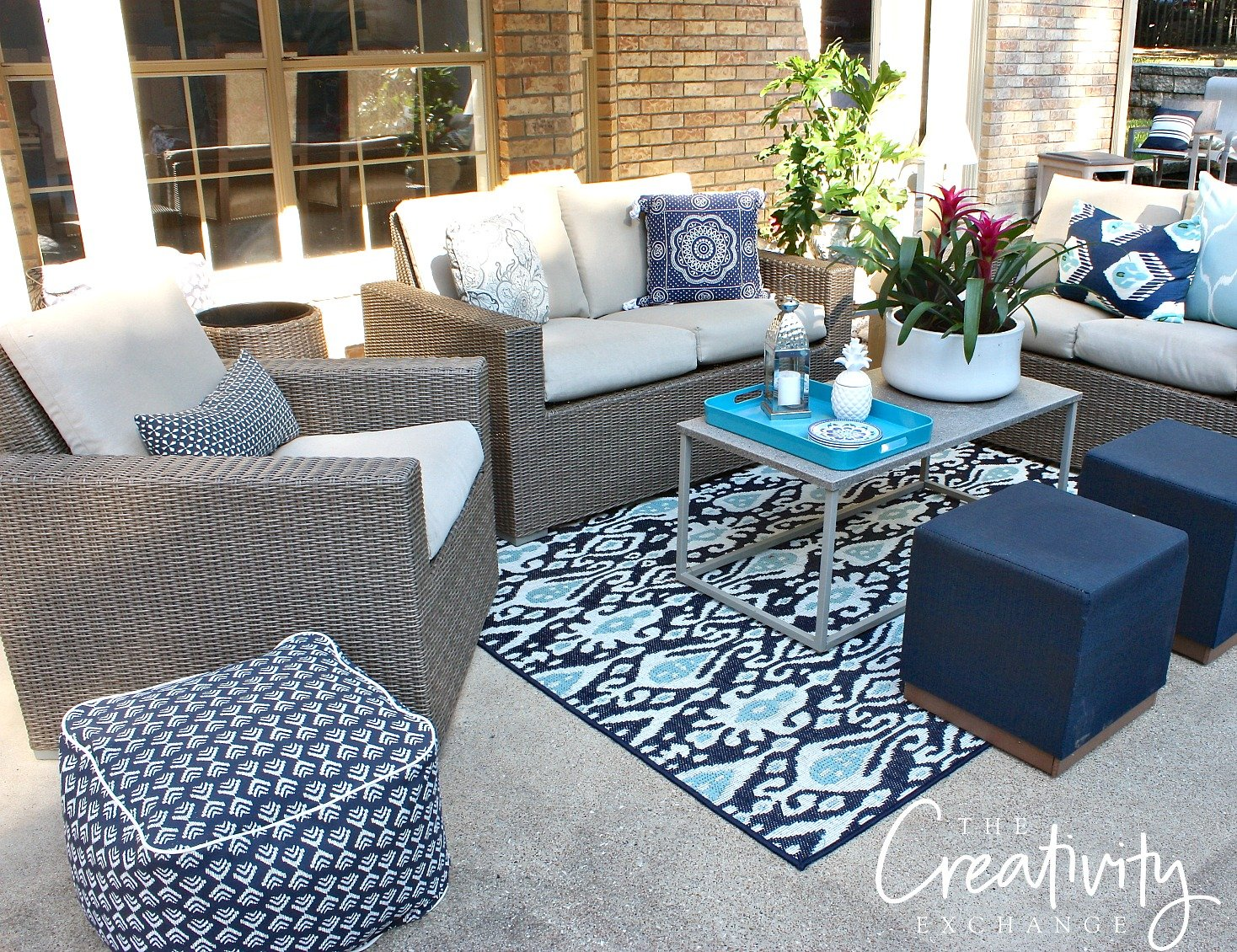 Patio refresh tips and deals. The Creativity Exchange